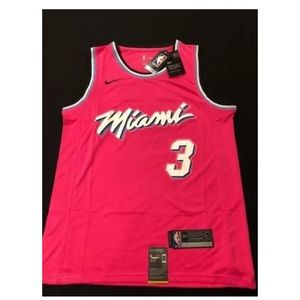 Dwayne Wade Miami Vice City Jersey NWT
